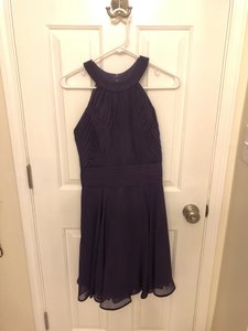Allure Bridals Purple Traditional Bridesmaid/Mob Dress Size OS