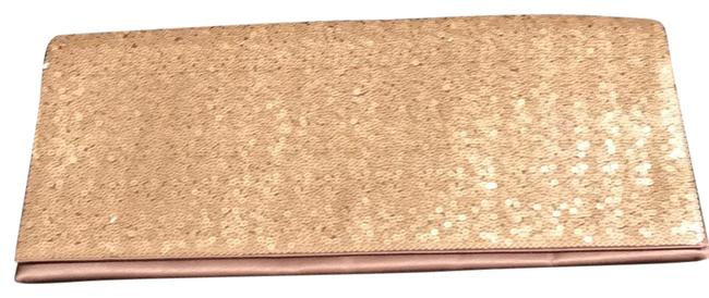 Item - And Sequin Champagne Satin Clutch