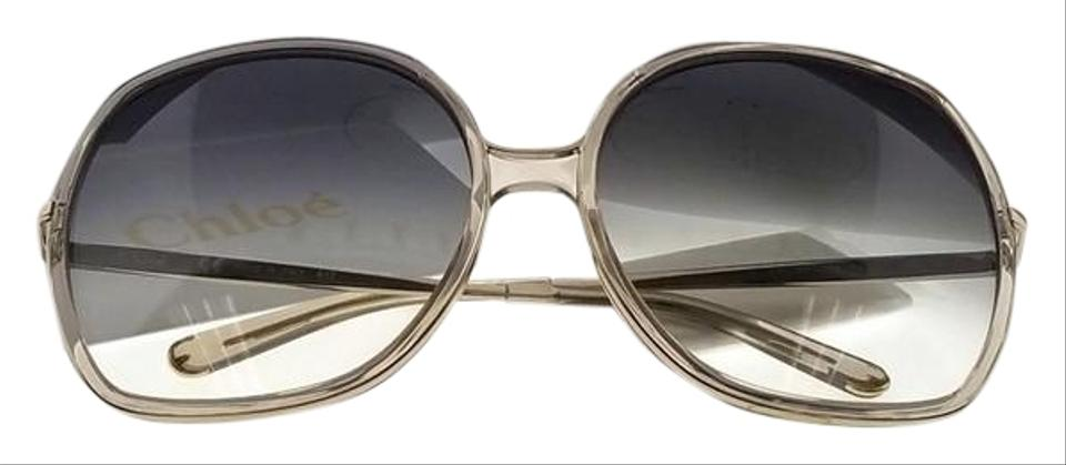 f920de3ccc7e Chloé Ce725s-272-62 Oversized Womens Gold Frame Grey Lens Genuine Sunglasses