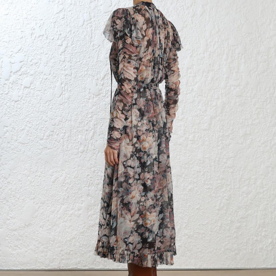 4318ef7574e ZIMMERMANN Floral Tempest Frolic Long Casual Maxi Dress Size 0 (XS) 74% off  retail