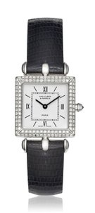 Van Cleef & Arpels Van Cleef and Arpels 18K White Gold with Diamonds Classic Watch 322364