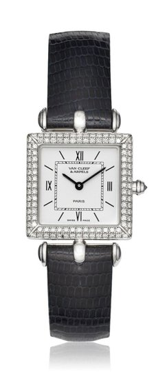Van Cleef & Arpels Van Cleef and Arpels 18K White Gold with Diamonds Classic Watch 322364 Image 0