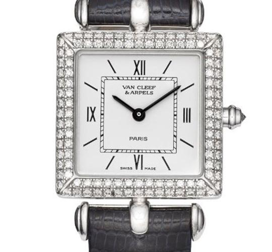 Van Cleef & Arpels Van Cleef and Arpels 18K White Gold with Diamonds Classic Watch 322364 Image 1