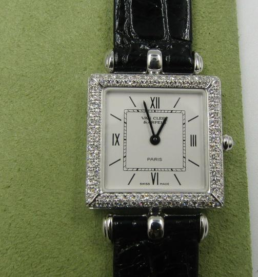 Van Cleef & Arpels Van Cleef and Arpels 18K White Gold with Diamonds Classic Watch 322364 Image 7