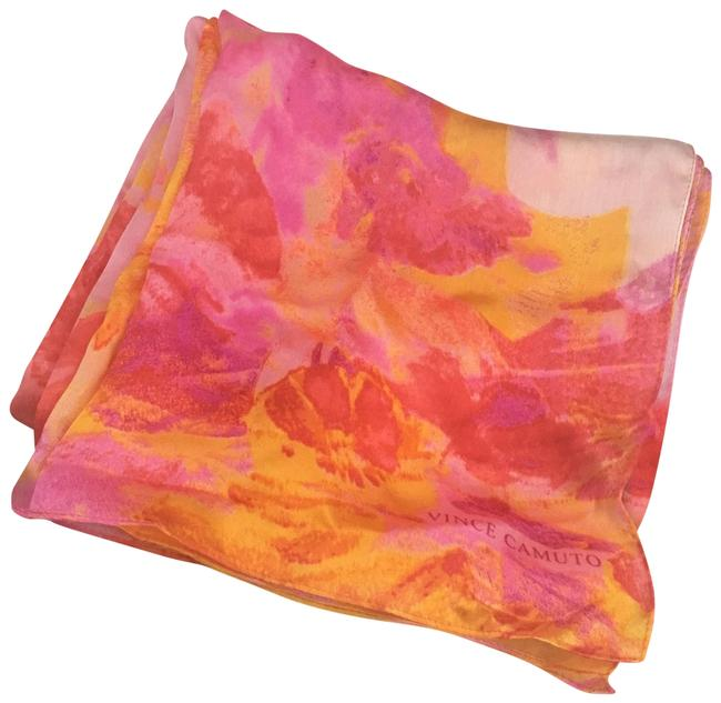 Item - Multi-colored (Red Pink Yellow Orange) Scarf/Wrap