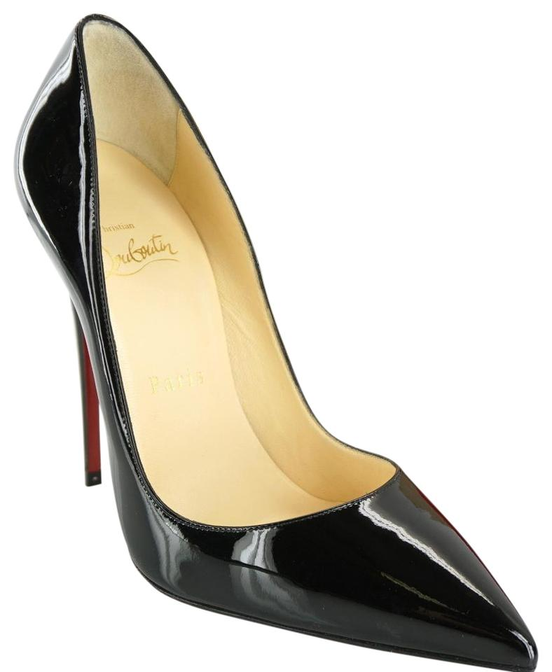 8edc95c21858 Christian Louboutin Black Patent So Kate Classic Pointy Toe High Pumps
