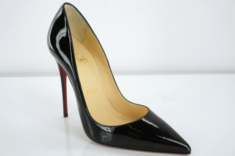 3303ae1d8c2a Christian Louboutin Black Patent So Kate Classic Pointy Toe High Pumps Size  EU 37 (Approx. US 7) Regular (M
