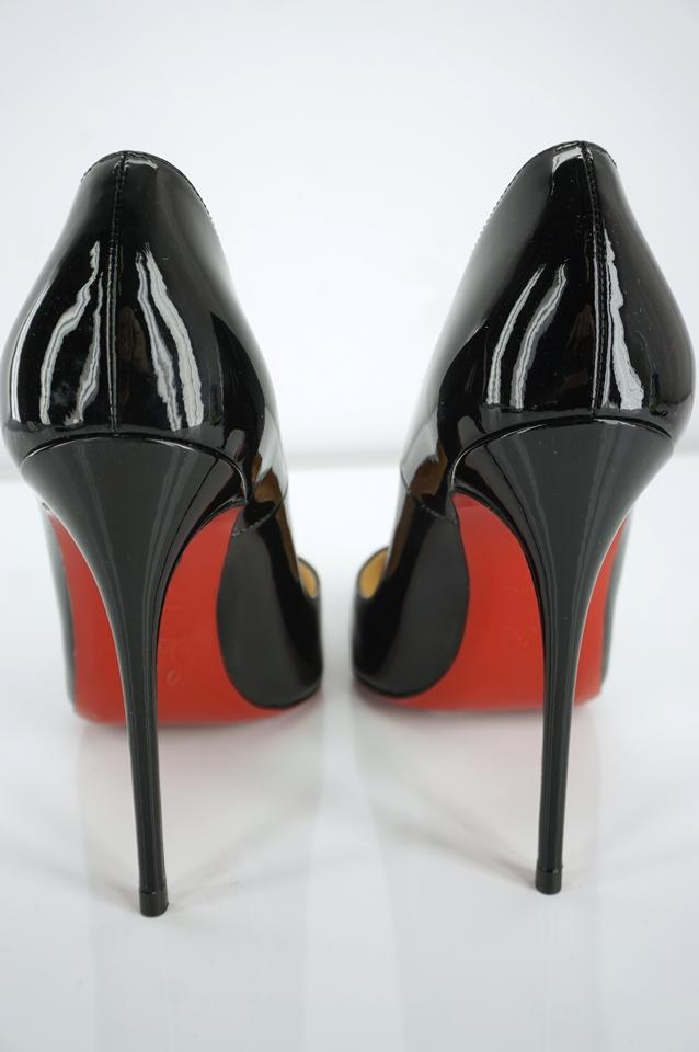 fc71012713ed Christian Louboutin Red Bottom Pointed Toe Pigalle Formal Party Black Pumps  Image 10. 1234567891011