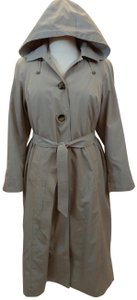 London Fog All Weather Raincoat Detachable Lining Trench Coat