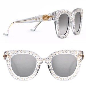 758019d3ed5 White Gucci Sunglasses - Up to 70% off at Tradesy (Page 3)