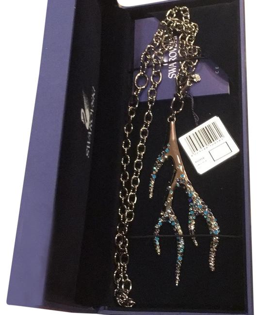 Item - Smoky Silver Turquoise Purple Branch 910916 Necklace