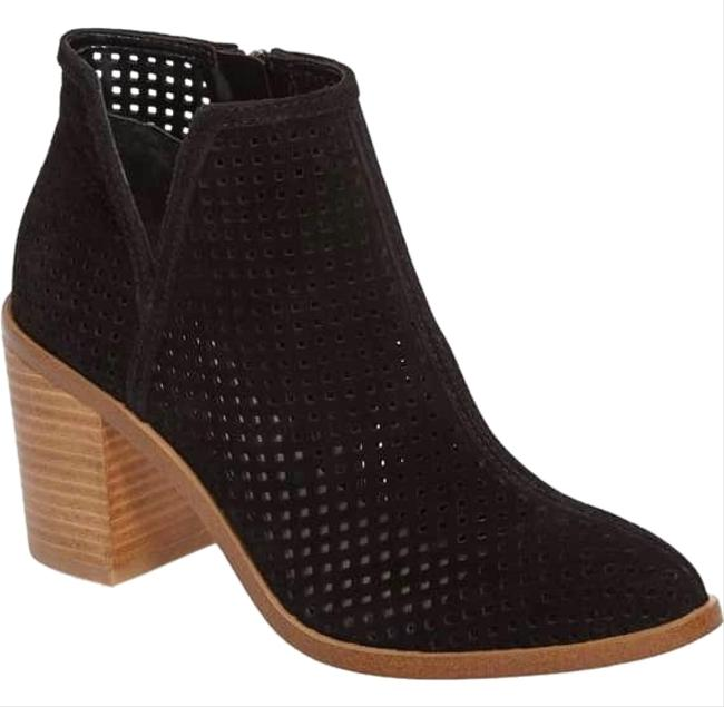 Item - Black Larocka Perforated Boots/Booties Size US 10 Regular (M, B)