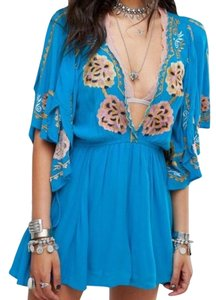 fd3b1ce9dd Blue Free People Casual Short Dresses - Up to 70% off a Tradesy