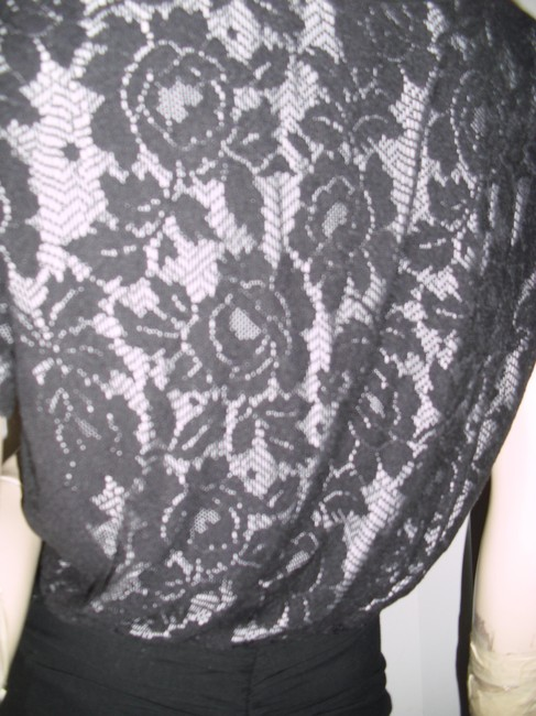 Betsey Johnson Unique Lace Sexy Skirt Lace Bodycon Skirt Little Dress Image 3