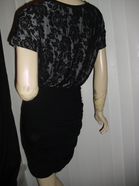 Betsey Johnson Unique Lace Sexy Skirt Lace Bodycon Skirt Little Dress Image 1