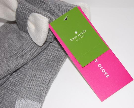 Kate Spade Tech-Friendly Colorblock Bow Gloves One Size Image 3