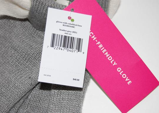 Kate Spade Tech-Friendly Colorblock Bow Gloves One Size Image 4