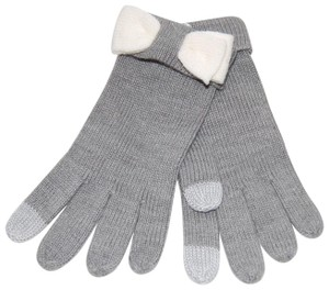 Kate Spade Tech-Friendly Colorblock Bow Gloves One Size