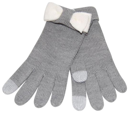 Preload https://img-static.tradesy.com/item/24727488/kate-spade-heather-gray-tech-friendly-colorblock-bow-gloves-one-size-0-1-540-540.jpg