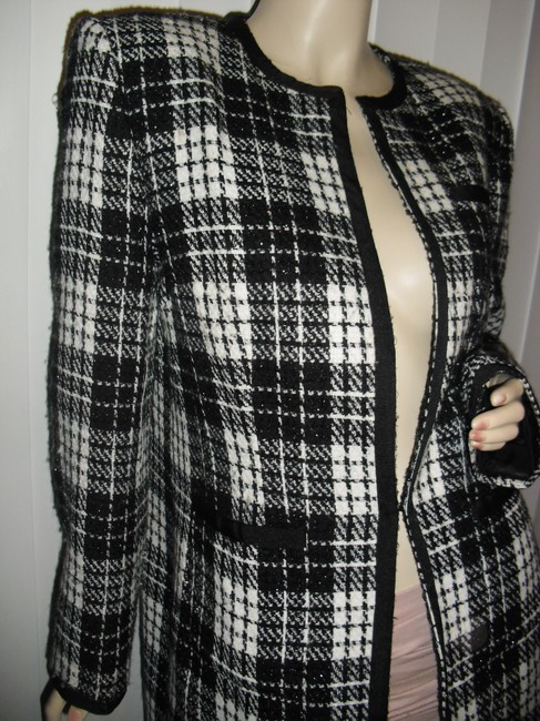 Apostrophe Rue Cambon Style French Designer Copy Pearls Classic Paris Style Cc Style Coat Image 1