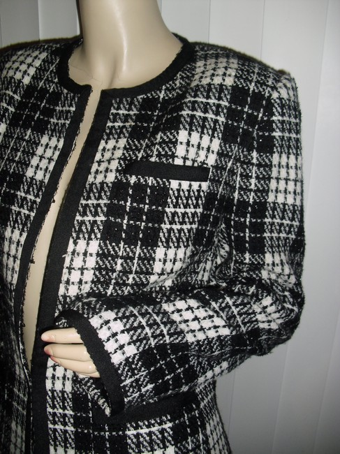 Apostrophe Rue Cambon Style French Designer Copy Pearls Classic Paris Style Cc Style Coat Image 2
