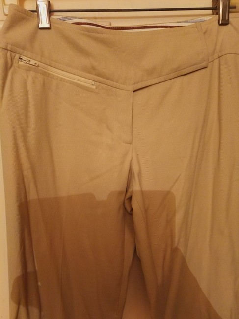 MILLY Trouser Pants Beige Image 1