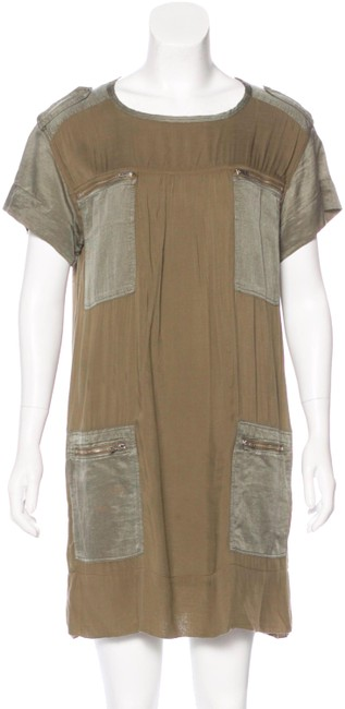 Preload https://img-static.tradesy.com/item/24727653/isabel-marant-green-silk-accented-washed-olive-zipper-lightweight-short-casual-dress-size-12-l-0-1-650-650.jpg