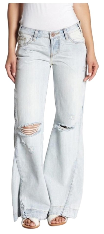 brand quality hot sale great discount sale One Teaspoon Blue -- Johnnies Flare Leg Jeans Size 25 (2, XS) 58% off retail