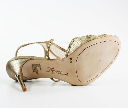 Imagine by Vince Camuto Gold Sandals Image 1