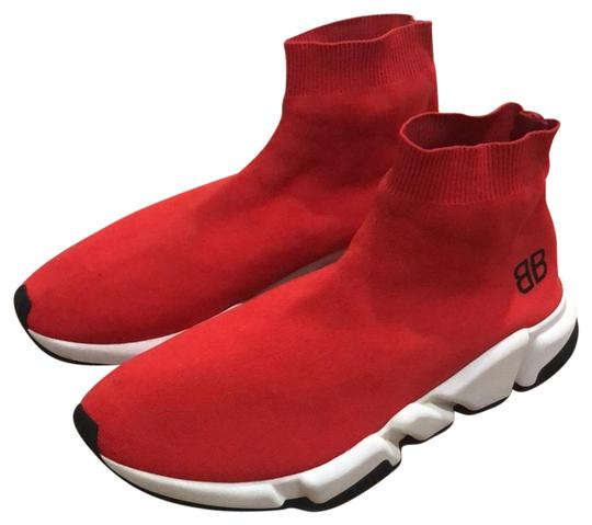 Balenciaga Red Speed Trainers Men's Sneakers Size US 11 Regular (M, B) 53%  off retail