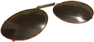 VINTAGE SUNGLASSES OVAL CLIP EXPANDABLE