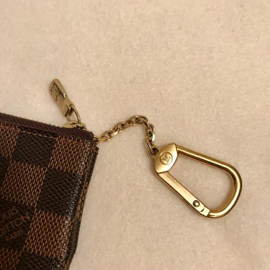 Louis Vuitton Damier Ebene Key Cles Chain Case Pouch Wallet Image 1