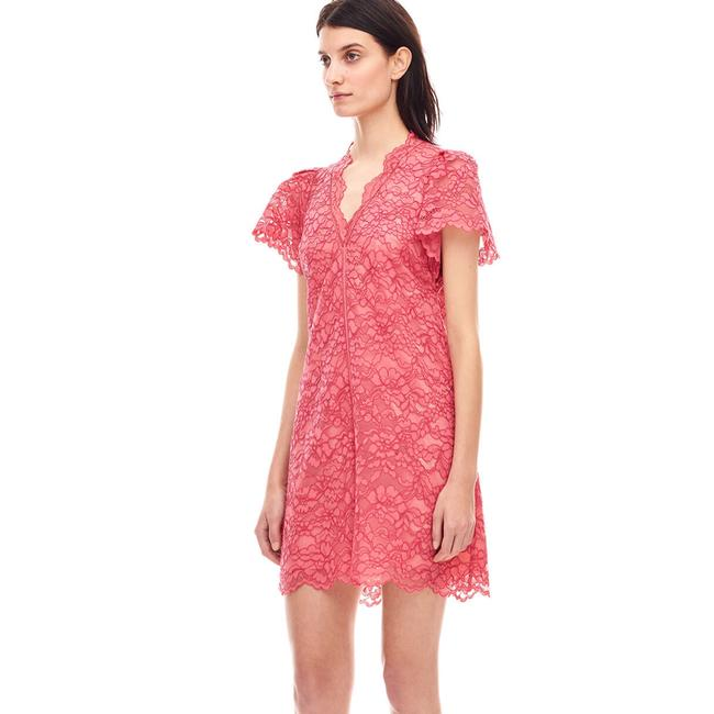 Rebecca Taylor short dress red on Tradesy Image 4
