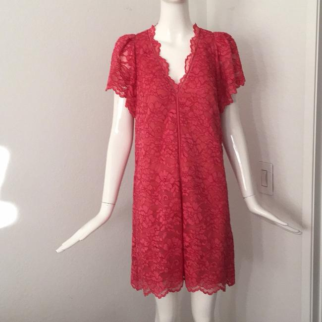 Rebecca Taylor short dress red on Tradesy Image 9