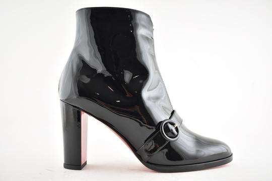 Christian Louboutin Miss Tennis Stiletto Lace black Boots Image 1