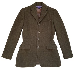 Ralph Lauren Collection Green / Brown Blazer