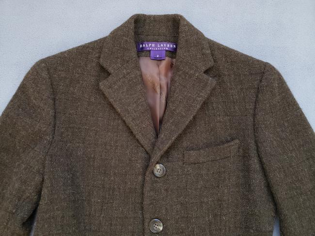 Ralph Lauren Collection Green / Brown Blazer Image 1