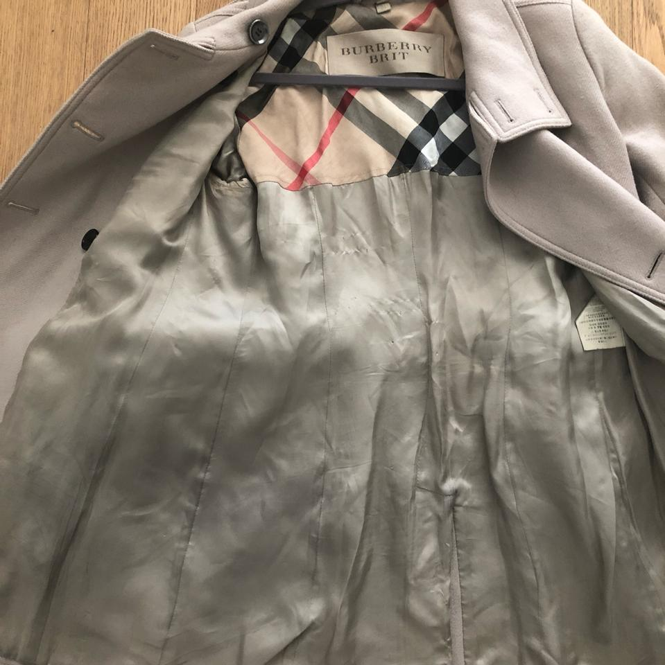 Burberry Brit Fawn Sand Classic Coat Size 8 (M) - Tradesy c45fbd33bef6a