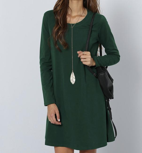 SheIn short dress Green on Tradesy Image 1
