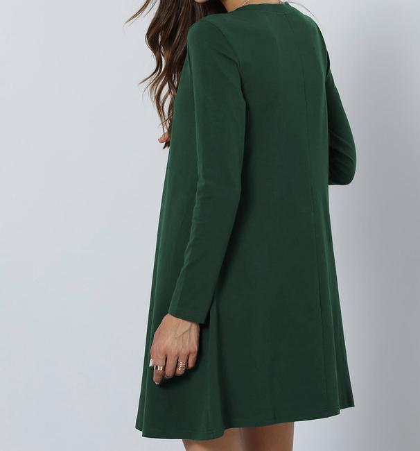 SheIn short dress Green on Tradesy Image 2