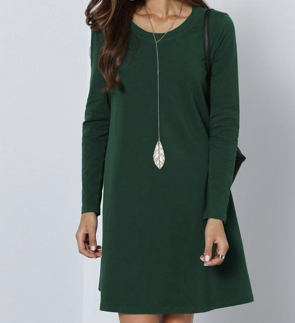 SheIn short dress Green on Tradesy Image 3
