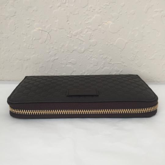 Gucci leather wallet with zip Image 2