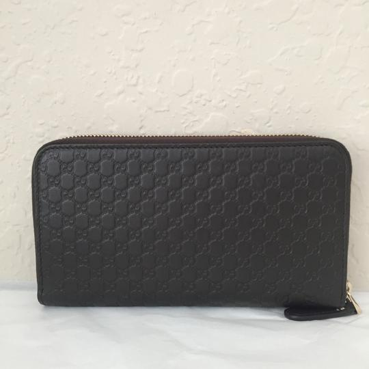 Gucci leather wallet with zip Image 3