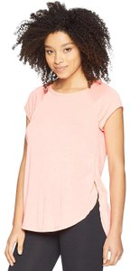 Calvin Klein Calvin Klein Performance Women's Cap Sleeve Tee W/ Back Cut Out