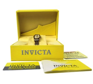 Invicta Invicta Ladies Watch Gold Stainless Steel Strap Mother of Pearl Dial