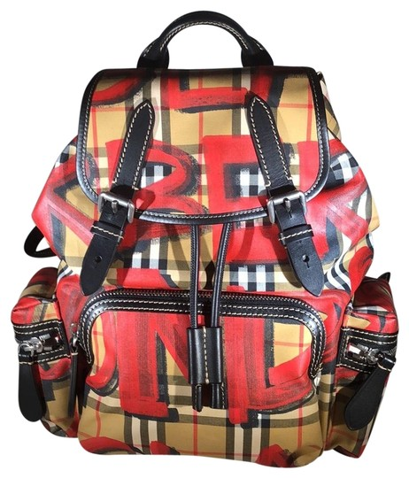 Preload https://img-static.tradesy.com/item/24728182/burberry-40758361-antique-yellowred-vinyl-backpack-0-6-540-540.jpg