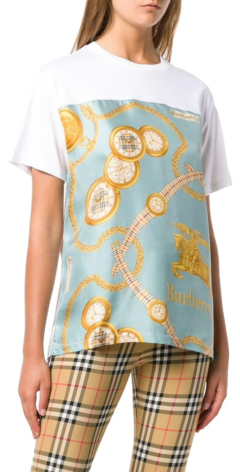 82808abe5570 Burberry Multicolor Archive Scarf Print Oversized T-shirt Tee Shirt ...