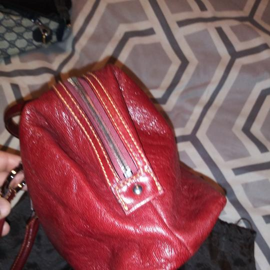 Gucci Satchel in Burgundy Image 1