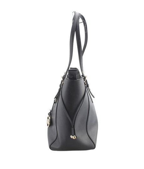Michael Kors Leather Gold-tone Unknown Tote in Black Image 3