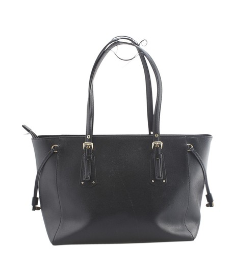 Michael Kors Leather Gold-tone Unknown Tote in Black Image 4